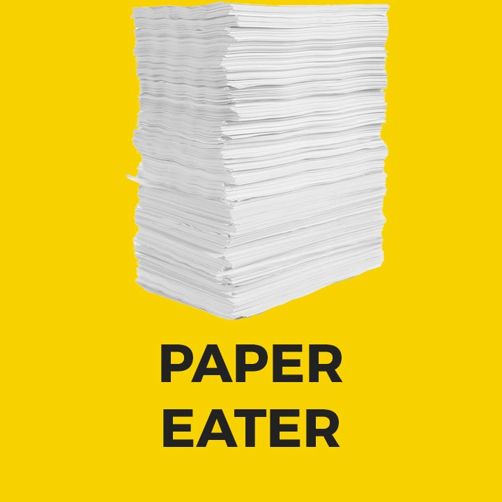 Paper Eater