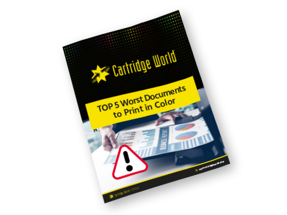 Worst Documents To Print In Color EBook