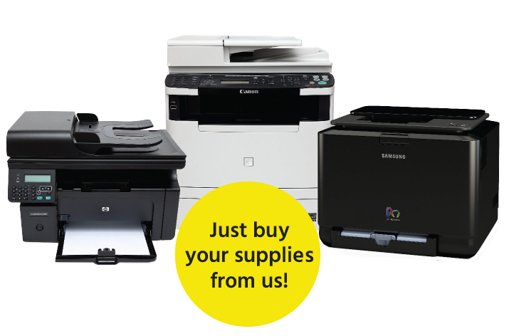 why pay for printers and printer service when you can just pay for the toner?