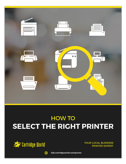 How to Select the Right Printer