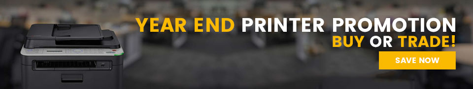 Year End Printer Promotion