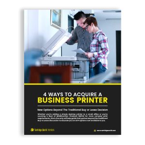 4 ways to acquire a business printer - ebook