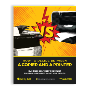 How to Decide Between a Copier and a Printer ebook